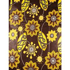 African Snowflakes Print Fabric BY 1/2 YARD Ankara kitenge fancy wax p1307