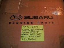 2013-2014 SUBARU BRZ PREMIUM GENUINE RH PARTITION GLASS # 61011CA200 FREE SHIPPI