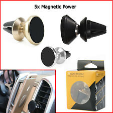 Universal 360° In Car Magnetic Air Vent Metal Holder Mobile Phone Mount GPS PDA