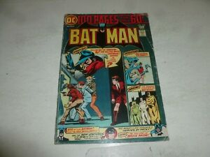 BATMAN Comic - Vol 35 - No 259 - Date 11/1974 - DC Comic