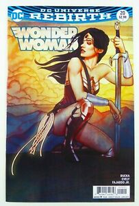 DC WONDER WOMAN (2017) #20 REBIRTH Jenny FRISON COVER B VARIANT NM (9.4)