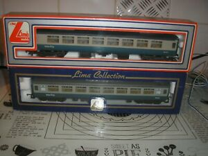 lima carriages  30 5302 OO Gauge Inter City x2