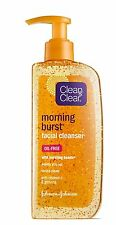 Clean & Clear Morning Burst Facial Cleanser with Bursting Beads, 8 oz (24 Pack)