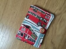 Handcrafted Needle Book Made With Cath Kidston London Buses Fabric