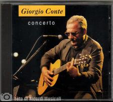 GIORGIO CONTE - CONCERTO (MINT)1997CDPOLYDOR 539 670-2