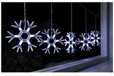 Snowflakes Christmas WhiteLights outdoor LED indoor WeRchristmas Acrylic 8 MODE