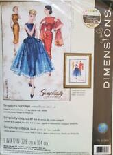 """Dimension #70-35369 Simplicity Vintage Pattern Counted Cross Stitch Kit 9"""" x 12"""""""