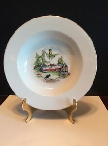 """Rare Eschenbach Germany """"Sleeping Beauty"""" Rimmed Soup/Cereal Bowl"""