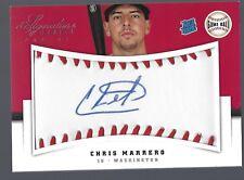 2012 Panini Signature Series Rookies Game Ball Signatures #107 Chris Marrero 225