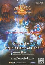 Allods Online Game Of Gods MMORPG 2012 Magazine Advert #7180