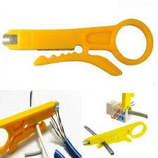 2 in1 RJ45 CAT5 CAT6 Cable Stripper Wire Cutter IDC Punch Down Network Tool 1pc