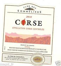 Etiquette de vin - CORSE 2010 (183)