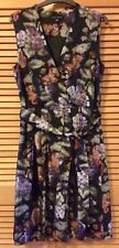 Laura Ashley Ladies floral patterned silk dress UK size 12