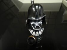 Darth Vader Bust Ceramic & Wood Tobacco Smoking  Pipe.  ( PM3104 )