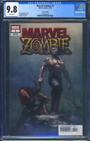 Marvel Zombie 1 (Marvel) CGC 9.8 White Pages InHyuk Lee Variant Cover