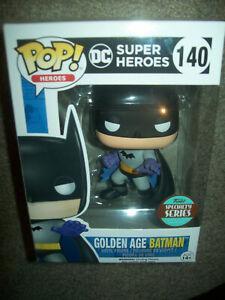 GOLDEN AGE BATMAN #140 - DC SUPER HEROES - SPECIALTY SERIES - POP! VINYL