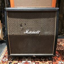 Vintage 1975 Marshall Checkerboard 4x12 1960 Guitar Cabinet Celestion G12M T1221