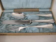 Vintage Herm. Farder Juwelier M. Gladbach Silver V.S.F 90 Personal Flatware Set