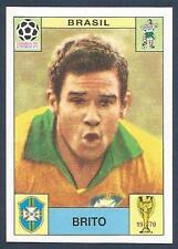 PANINI WORLD CUP STORY #033-MEXICO 70-BRAZIL-BRASIL-BRITO