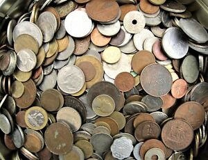10 - 1000  MIXED FOREIGN WORLD COINS BULK BUY  CHOOSE YOUR AMOUNT FREE UK POST