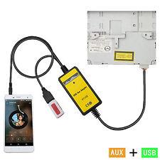 Car USB/SD MP3 Player Interface AUX in Adapter For 5 323 Miata MX5 MPV Good