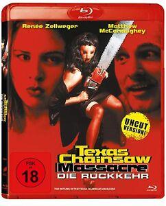 Texas Chainsaw Massacre The Next Generation Uncut Blu Ray Import New/Sealed