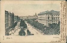 Ansichtskarte Wien I. Burgring 1901   (Nr.917)