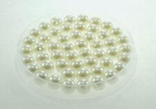 Lot 20 Perle imitation 10mm Blanc Cassé perle de culture creation Bijoux Collier