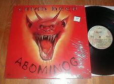 "URIAH HEEP Orig 1982 ""Abominog"" LP w That's The Way That It Is SHRINK UNPLAYED"