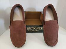 Isotoner - Mens Genuine Suede - Size M 8-9
