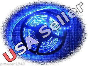 16.4 feet BLUE LED Cabinet Tape Lights - 3528 Under Counter Lighting Strip