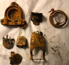 Vintage Lot Of Rusty Old Hardware Mismatched Collection Repurpose Rustic Use