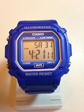 Casio F-108WH-2AEF Blue Sports Illuminator  Watch.