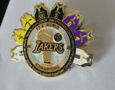 LA Lakers  2020 NBA Champion Trophy Jersey Lapel KB Pin  Lebron  Davis Rondo