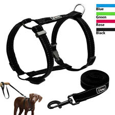 Reflective No Pull Dog Harness &Leash Adjustable Quick Fit for Pitbull Dobermans