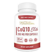 CoQ10 (Ubiquinone) Supplement - 200mg (30 Capsules)