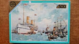 Valiant S.S. Ophir 500 Piece Jigsaw Puzzle by Falcon