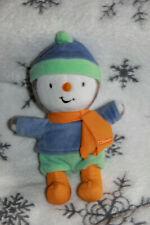 T'CHOUPI en tenue d'hiver BONNET ECHARPE 18 CM PELUCHE DOUDOU  COM NEUF