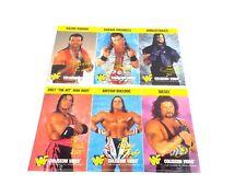 WWE WWF Razor Ramon Hart Diesel And More 1995 Coliseum 3 Sheets Promo Sticker