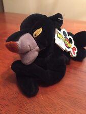 "RETIRED Disney Store Mini Bean Bag Jungle Book Bagheera 8"" Beanie Plush NWT"