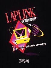 "Vintage 90s Computing Laplink for Windows Traveling Software T-Shirt M 45"" Chest"