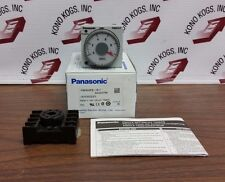 NEW Panasonic PM4HF8-S-DC24VW Analog Timer