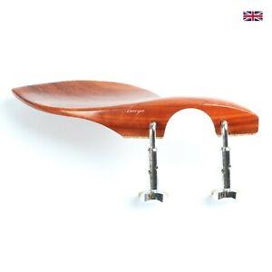 Padauk Violin Chinrest - Delphin Lite, Super Lightweight Semi-Hill Clamp