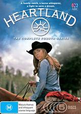 Heartland The Complete Fourth Season Series 4 DVD R4 New 5 discs Heart Land