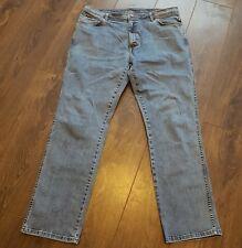 """WRANGLER Texas Jeans Stretch 40"""" x 34"""" DA UOMO MANS BIG E TALL"""