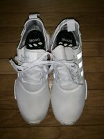 ADIDAS NMD R1 TRIPLE WHITE BOOST RUNNING SNEAKERS SHOES S79166 Size 13
