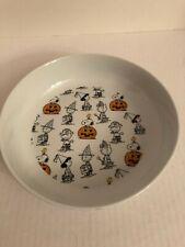 New ListingPeanuts Snoopy Halloween Dish