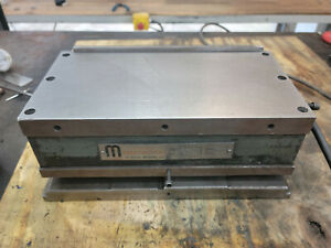 "Hanchett Magna-Lock SA-10 6x12"" magnetic sine chuck corded electromagnet"