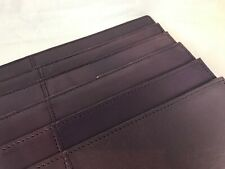 Purple - Leather - Solid - Placemats - Set of 6