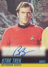 2009 Star Trek TOS Autograph Card A234 Bob Bralver